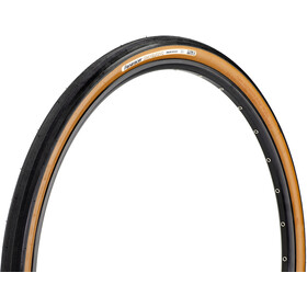 Panaracer GravelKing Slick Folding Tyre 700x38C TLC, black/brown